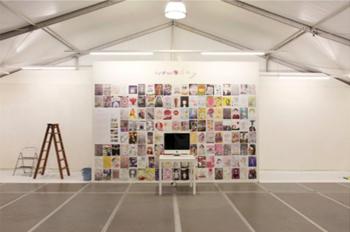 於國際級藝術博覽會VOLTA7展出